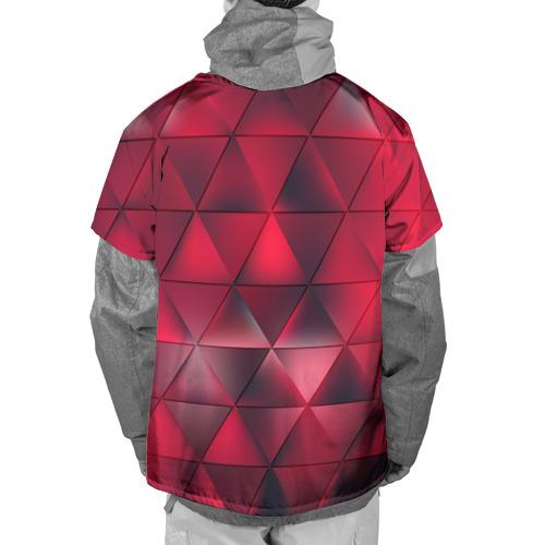 Накидка на куртку 3D  Фото 02, Dark Red