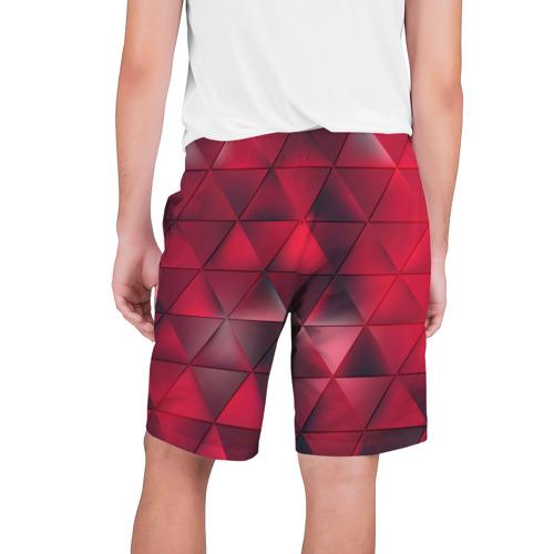 Мужские шорты 3D  Фото 02, Dark Red