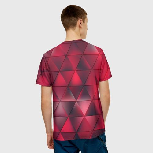 Мужская футболка 3D  Фото 02, Dark Red