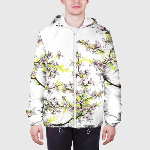 Мужская куртка 3D  Фото 04, Сакура