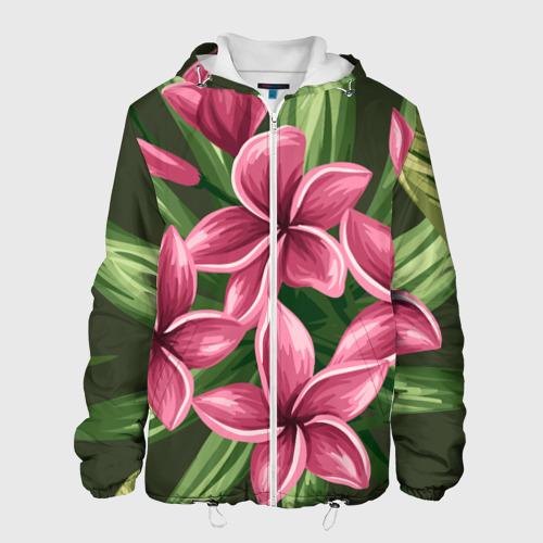 Мужская куртка 3D  Фото 01, Райский сад