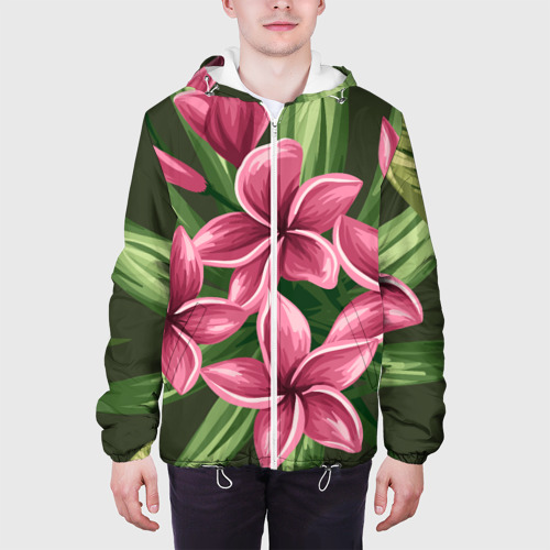 Мужская куртка 3D  Фото 04, Райский сад