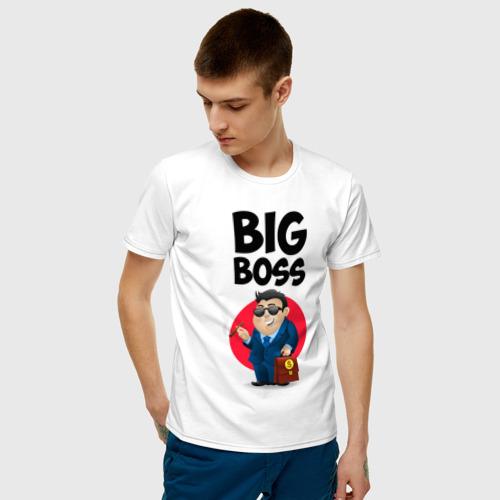 Мужская футболка хлопок Big Boss / Начальник Фото 01