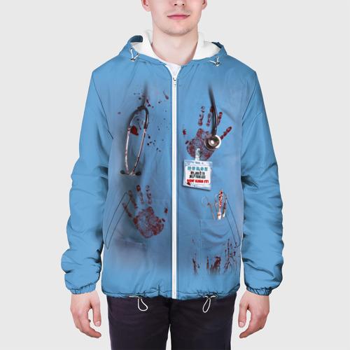 Мужская куртка 3D  Фото 04, Костюм врача кровь