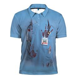 Костюм врача кровь