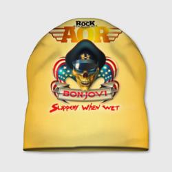Bon Jovi, slippery when wet