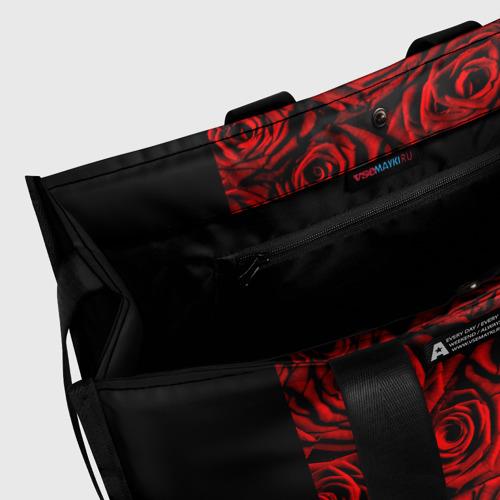 Сумка-шоппер 3D RED ROSES / КРАСНЫЕ РОЗЫ Фото 01