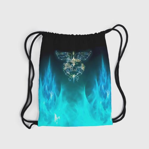 Рюкзак-мешок 3D Сердце Bon Jovi Фото 01