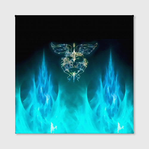 Холст квадратный Сердце Bon Jovi Фото 01