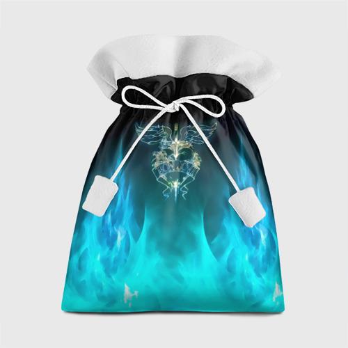Подарочный 3D мешок Сердце Bon Jovi Фото 01