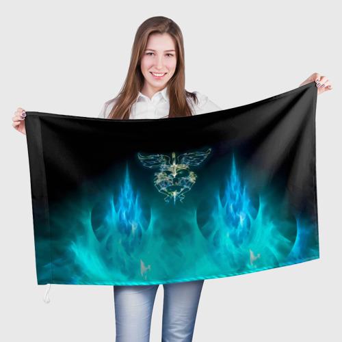 Флаг 3D Сердце Bon Jovi Фото 01