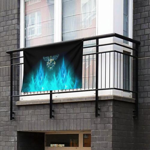 Флаг-баннер Сердце Bon Jovi Фото 01