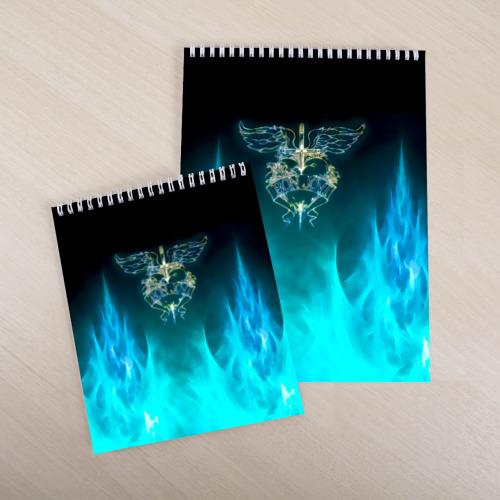 Скетчбук Сердце Bon Jovi Фото 01