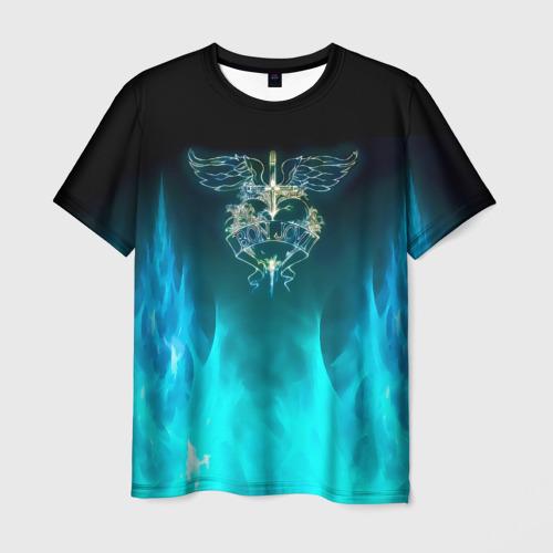 Мужская футболка 3D Сердце Bon Jovi Фото 01