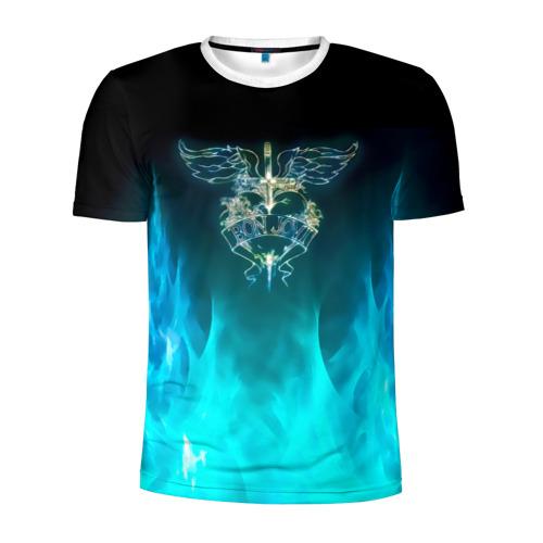 Мужская футболка 3D спортивная Сердце Bon Jovi Фото 01