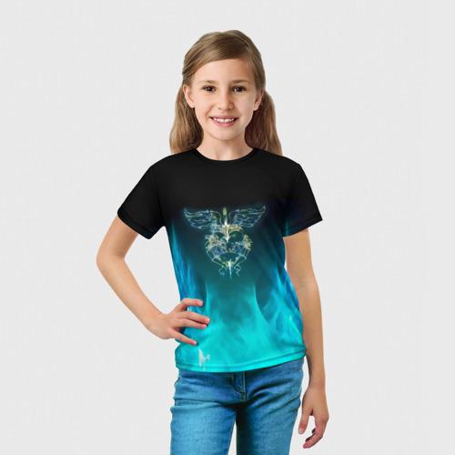 Детская футболка 3D Сердце Bon Jovi Фото 01