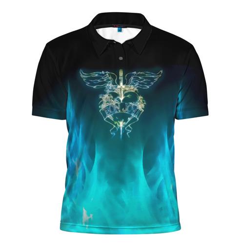 Мужская рубашка поло 3D Сердце Bon Jovi Фото 01
