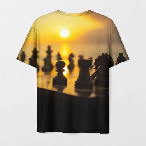 Мужская футболка 3D Шахматы - это жизнь Фото 01