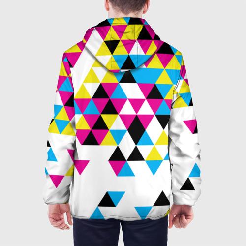 Мужская куртка 3D  Фото 05, Broken mosaic