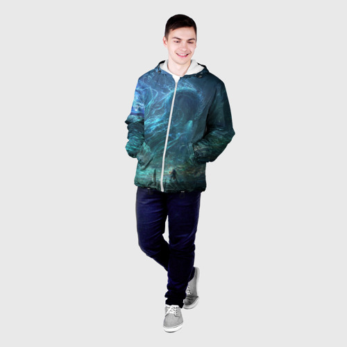 Мужская куртка 3D  Фото 03, Water dragon
