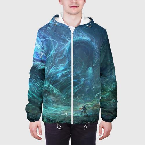 Мужская куртка 3D  Фото 04, Water dragon