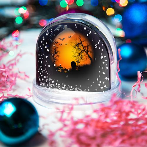 Водяной шар со снегом  Фото 03, Хэллоуин