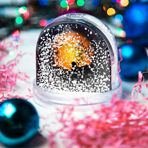 Водяной шар со снегом  Фото 04, Хэллоуин