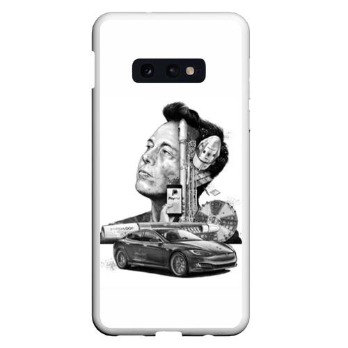 Чехол для Samsung S10E Илон Маск Фото 01