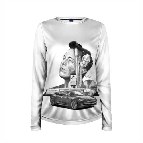 Женский лонгслив 3D для беременных  Фото 03, Илон Маск