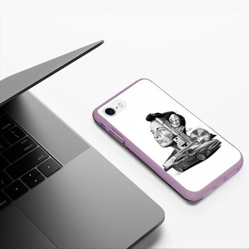 Чехол для iPhone 7/8 матовый Илон Маск Фото 01