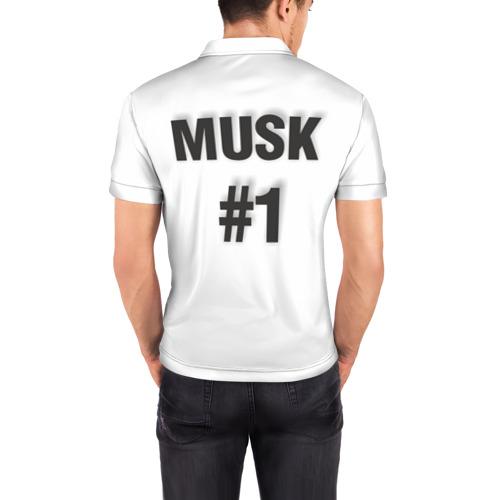 Мужская рубашка поло 3D  Фото 04, Илон Маск