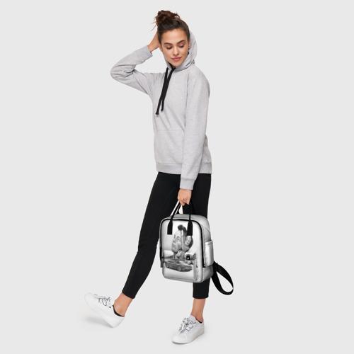Женский рюкзак 3D Илон Маск Фото 01