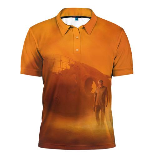 Мужская рубашка поло 3D Бегущий по лезвию