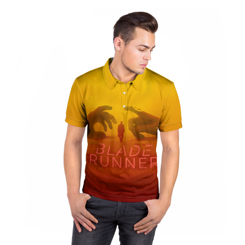 Мужская рубашка поло 3D  Фото 05, Бегущий по лезвию