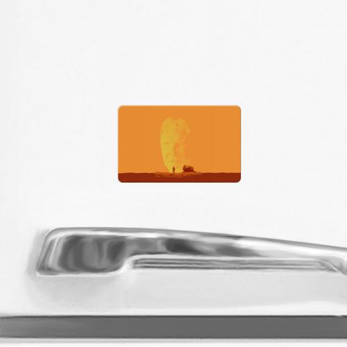 Магнит виниловый Visa  Фото 02, Бегущий по лезвию