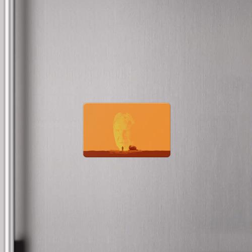 Магнит виниловый Visa  Фото 04, Бегущий по лезвию