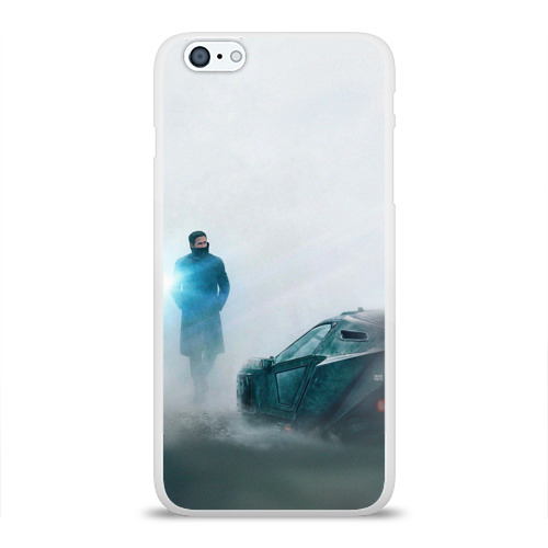 Чехол для Apple iPhone 6Plus/6SPlus силиконовый глянцевый  Фото 01, Бегущий по лезвию