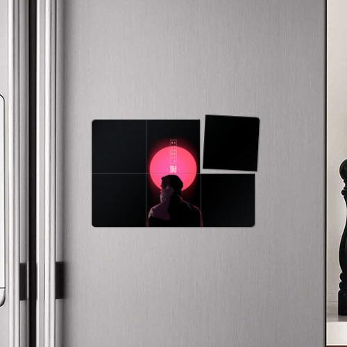 Магнитный плакат 3Х2 Бегущий по лезвию Фото 01