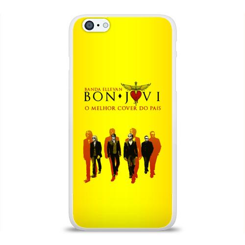 Чехол для Apple iPhone 6Plus/6SPlus силиконовый глянцевый  Фото 01, Группа Bon Jovi