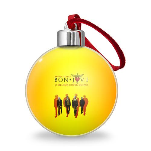 Ёлочный шар Группа Bon Jovi Фото 01