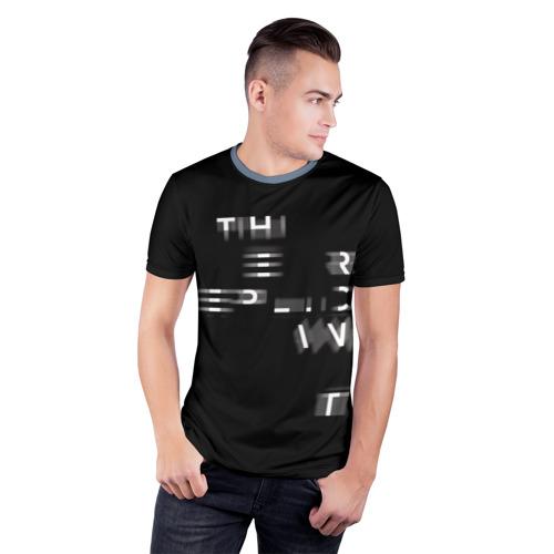 Мужская футболка 3D спортивная  Фото 03, Бегущий по лезвию