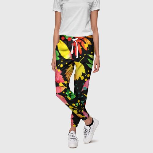 Женские брюки 3D  Фото 01, Осень