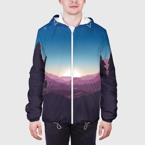 Мужская куртка 3D  Фото 04, Дивный Рассвет