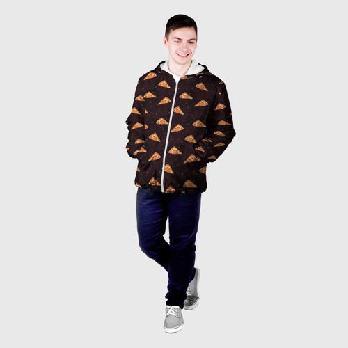 Мужская куртка 3D  Фото 03, Galaxy pizza