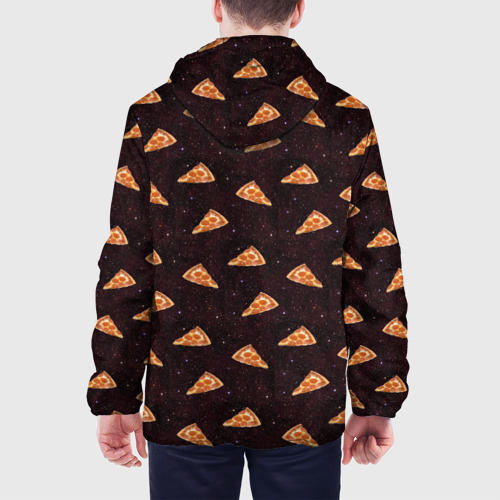 Мужская куртка 3D  Фото 05, Galaxy pizza