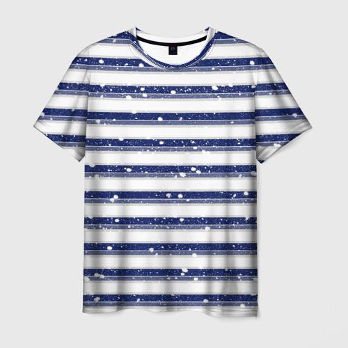 Мужская футболка 3D Морская