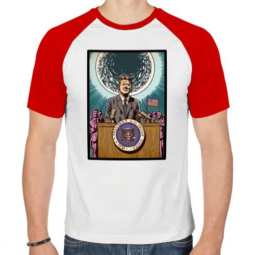 Мужская футболка реглан  Фото 01, Джон Кеннеди
