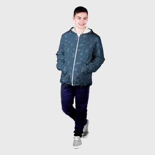 Мужская куртка 3D  Фото 03, Созвездие