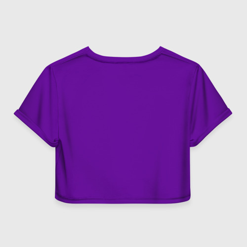 Женская футболка 3D укороченная  Фото 02, Поцелуй