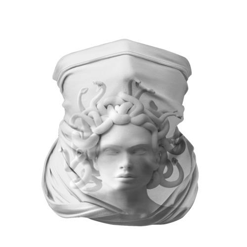 Бандана-труба 3D  Фото 01, Унисекс / Snake roses girl
